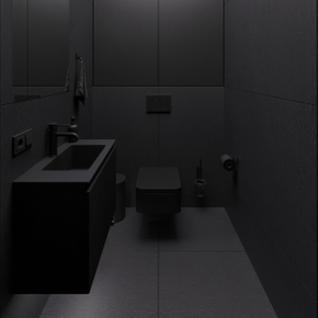 BLACK IN BATHROOM DESIGN TRENDS 2020